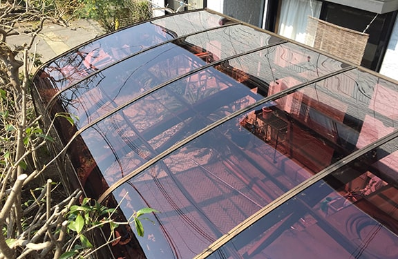 カーポート・テラス張り替え修理実績3
