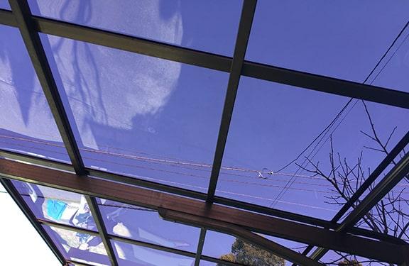 カーポート・テラス張り替え修理実績5