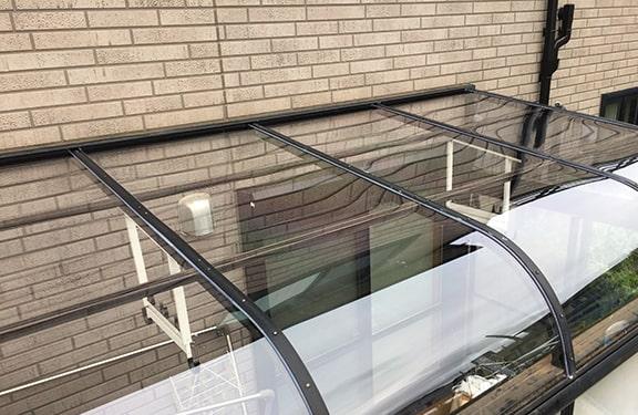 カーポート・テラス張り替え修理実績10
